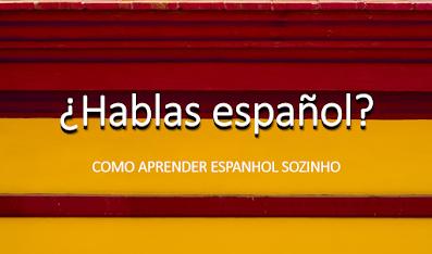 Como aprender espanhol sozinho