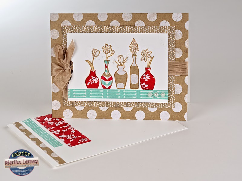 vivid vases Stampin' Up!
