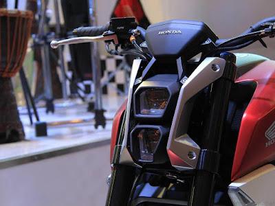 Honda SFA 150 Concept bike stearing Hd Image