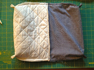 how to make a quilted zipper pouch