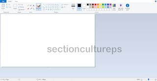 menggabungkan file jpg dengan Menggunakan Microsoft Paint