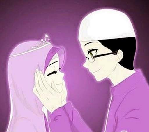 Gambar+Kartun+Romantis+Islami+Cinta+Muslimah+Sejati