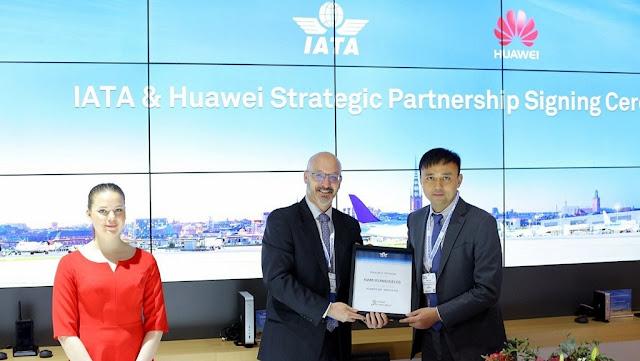 Huawei anuncia alianza estratégica con IATA