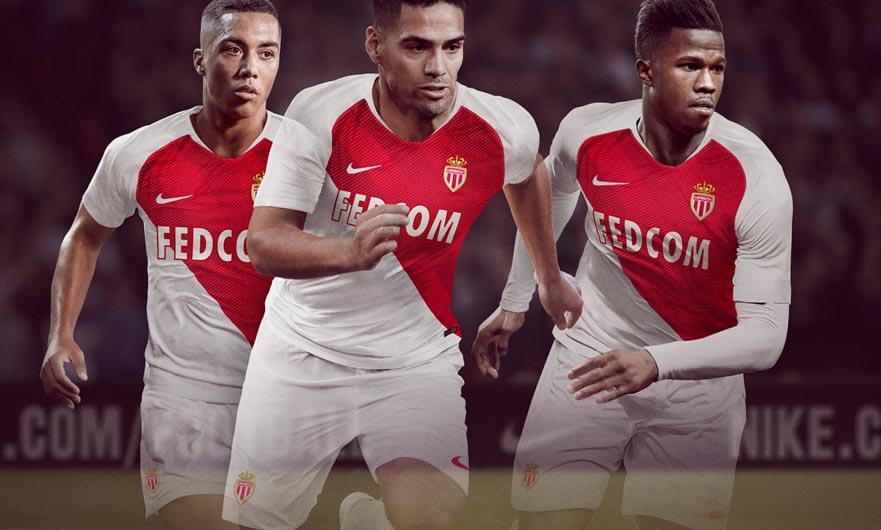 ff8063e2e67 AS Monaco Home Stadium Shirt 2018-19. Buy now. Free UK shipping - worldwide  delivery