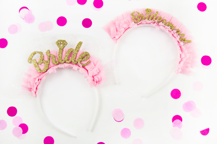 Bachelorette party DIY Headband