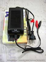 Cas Aki Otomatis Viscodry VD1 12-2A Output DC 12 Volt 2 Ampere