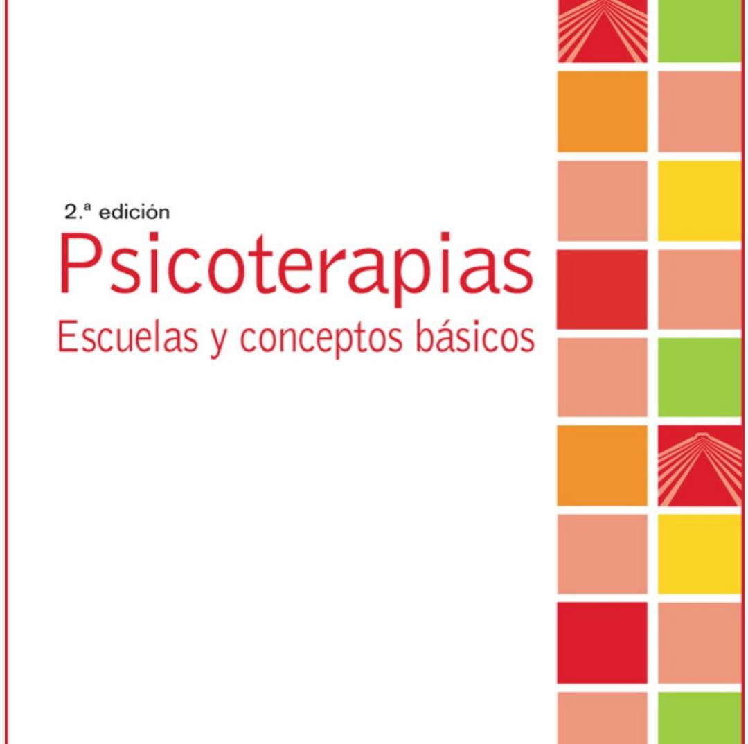 Psicoterapias, escuelas y conceptos básicos. PDF