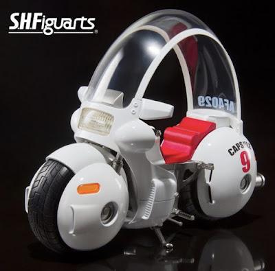 la moto de Bulma, S.H.Figuarts Capsule no.9 - Tamashii Nations