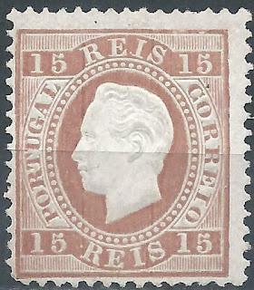 Portugal luís I, 15 reis