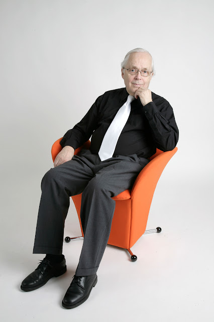 Sisustusarkkitehti Risto Halme.