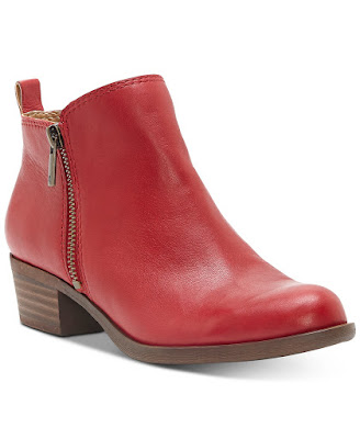 Lucky Brand Women Leather Booties
