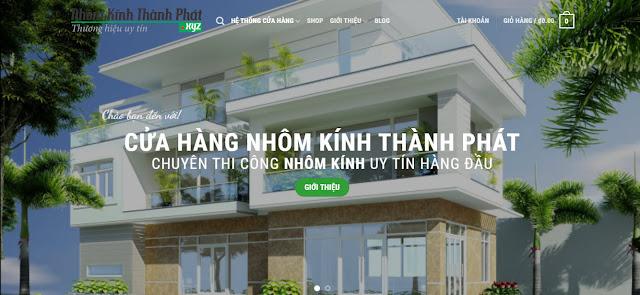 Kế hoạch xây dựng trang website Nhôm Kính Thành Phát www.nhomkinhthanhphat.xyz