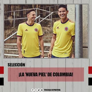 COLOMBIA TAMBIEN PRESENTA JERSEY PARA TODO EL AÑO