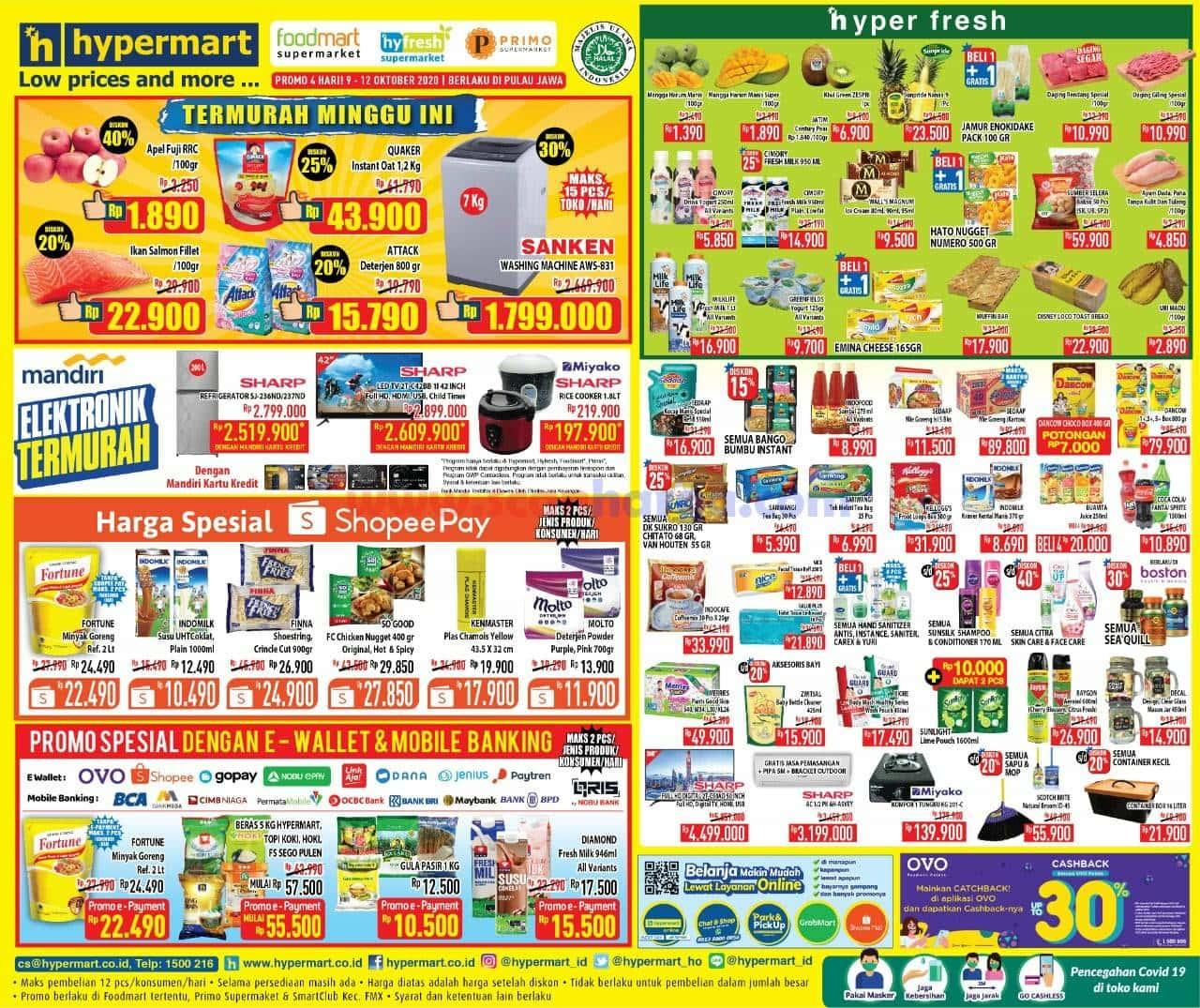 Katalog Promo Hypermart Weekend Terbaru 16 - 19 Oktober