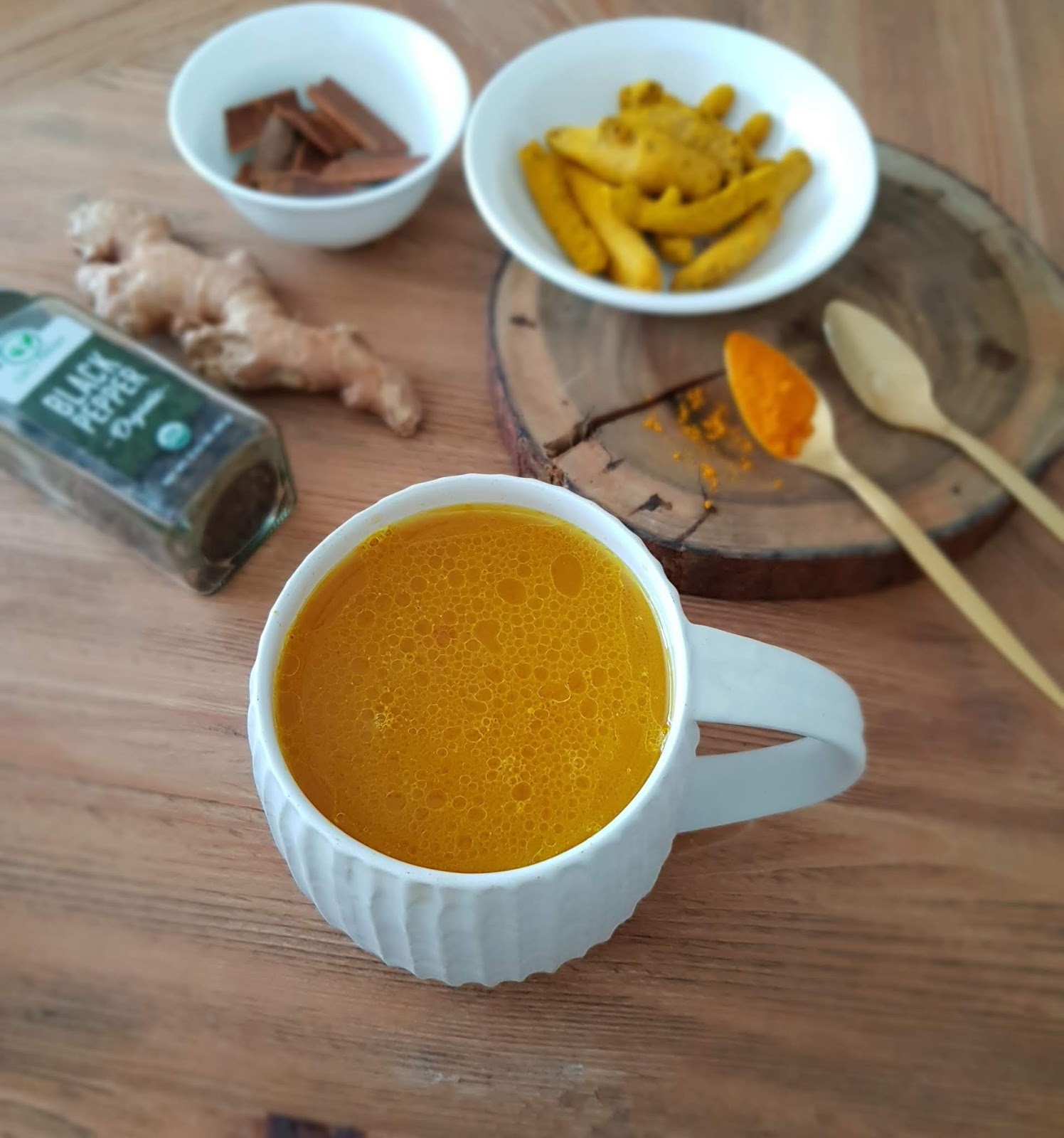 Turmeric Tea recipe - Immune Boosting Recipes and Gut Health - Easy immunity Booster Tea recipe