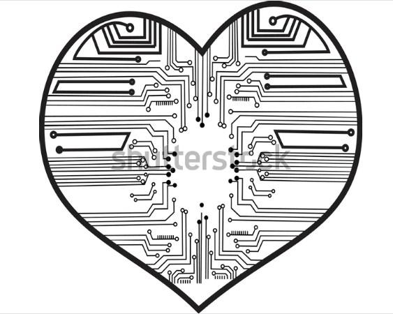 illustration art logo design SIRCUIT ELECTRONIK