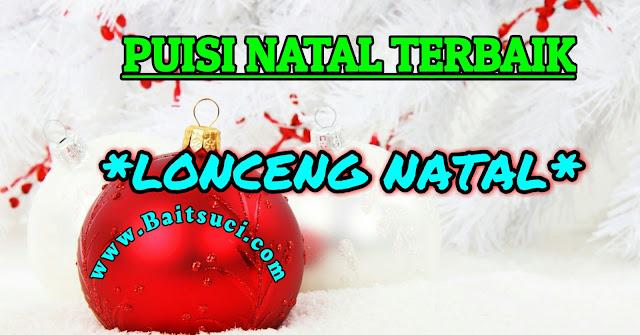 "Puisi Natal terbaik ""Lonceng Natal"""