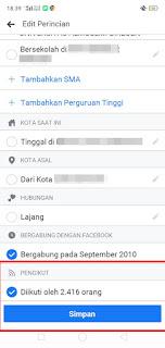 cara mengaktifkan fitur pengikut facebook