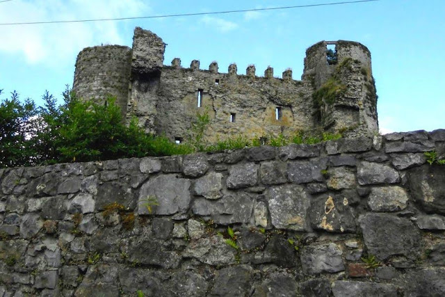Dublin to Waterford drive: Carlow Castle