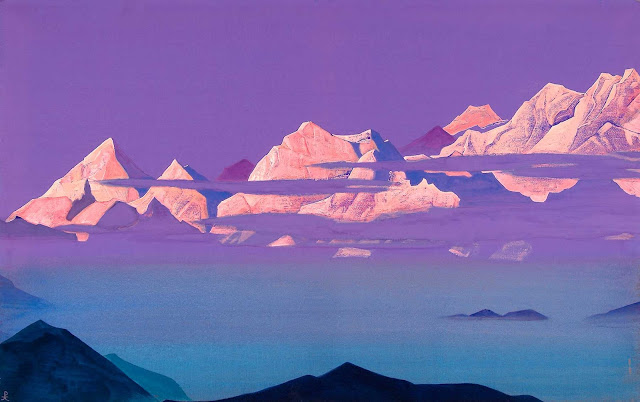 Николай Рерих - Гималаи. розовые горы