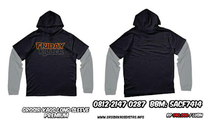 Kaos Distro Long Sleeve | 0812 2147 0287