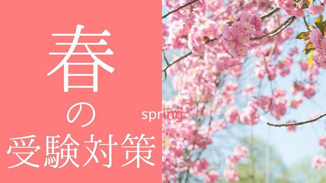 大学入試対策(高校生対象)の仙台EG式プロ家庭教師「春のアドバイス」