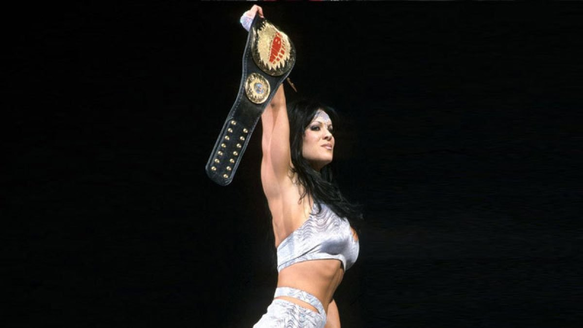 Chyna não queria ganhar o WWF Women's Championship
