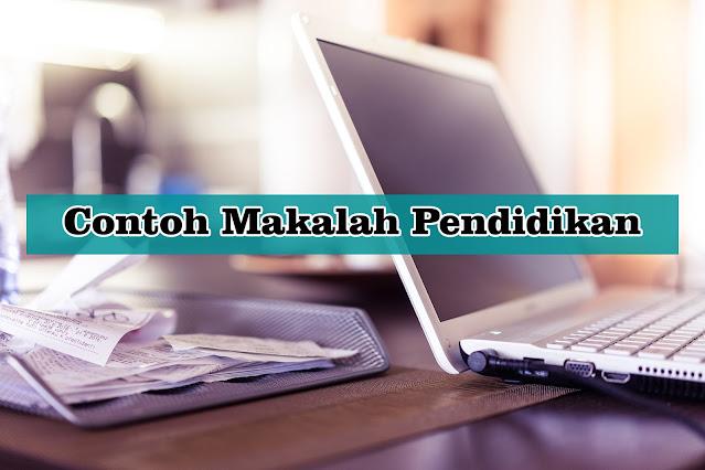 Contoh Makalah Tentang Pendidikan Bahasa Indonesia