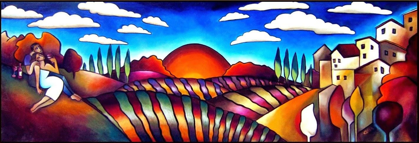 Stephanie Clair e Suas Pinturas Apaixonantes