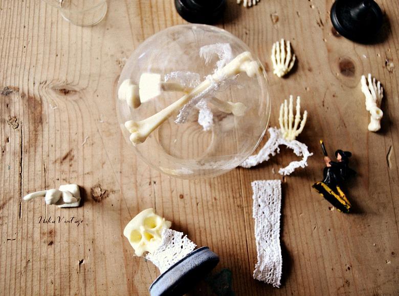 Vuelve el mundo diorama, un diy de lo más divertido para decorar en Halloween, no te los pierdas haré tres dioramas distintos en bolas de cristal
