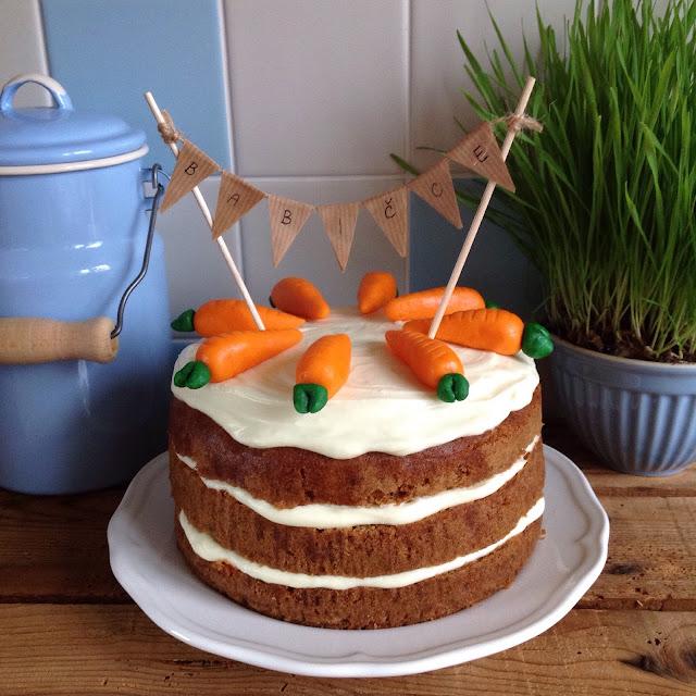 mrkvový dort