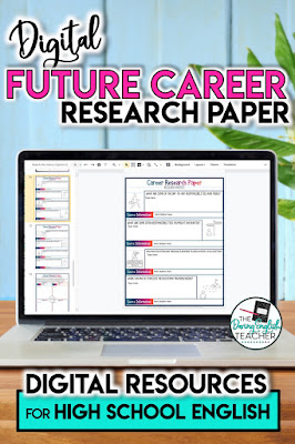 Digital Future Career Research Paper for High School English