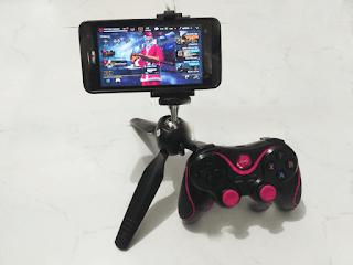 menghubungkan gamepad bluetooth