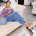 Rukky Sanda's distressed jeans is everything or nah? (photos)