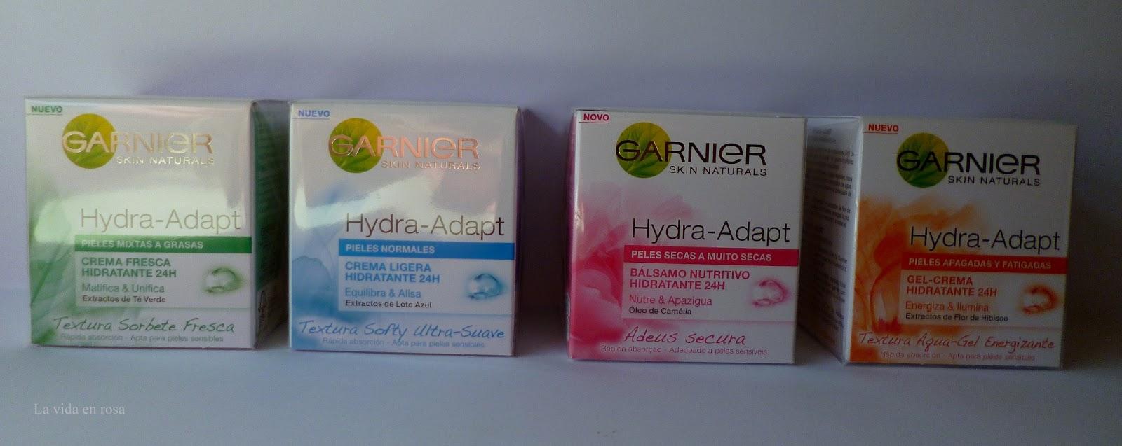 Hydra Adapt De Garnier Hidratación Para Todos Los Tipos De Piel La Vida En Rosa Bloglovin