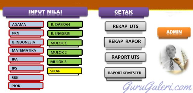 Aplikasi Raport UTS KTSP