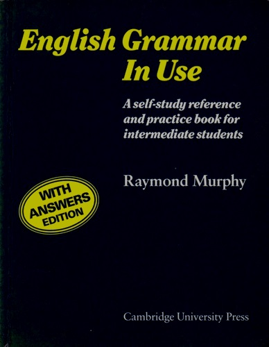 Intermediate English Grammar Book By Raymond Murphy