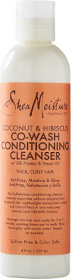 Click to buy SheaMoisture Coconut & Hibiscus Co-Wash Conditioning Cleanser, one of the best cowash cleansers for natural hair!