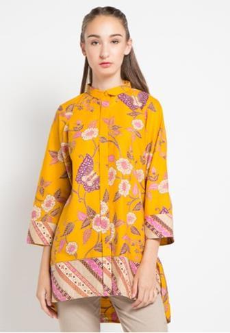 Blus Batik Moden Untuk Wanita Modern