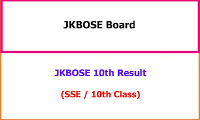 JKBOSE 12th Class Exam Result