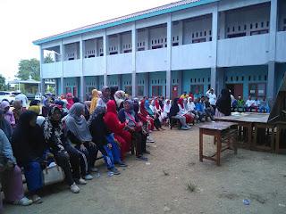 Senam Haji Sehat di Kbih Darun Nadwah bersama SUSU HAJI SEHAT, Cikarang Jawa Barat