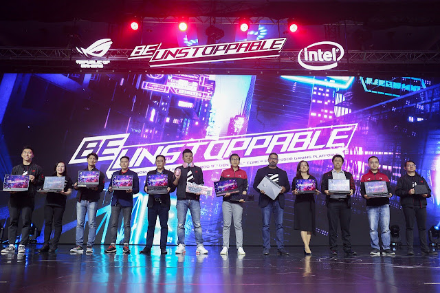 asus rog launch