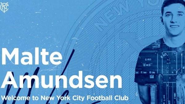 Oficial: El New York City FC ficha a Amundsen