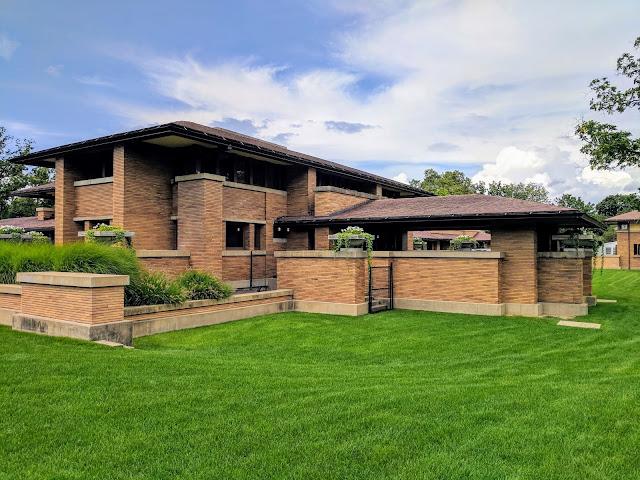 Buffalo Architecture: Frank Lloyd Wright's Martin House Complex