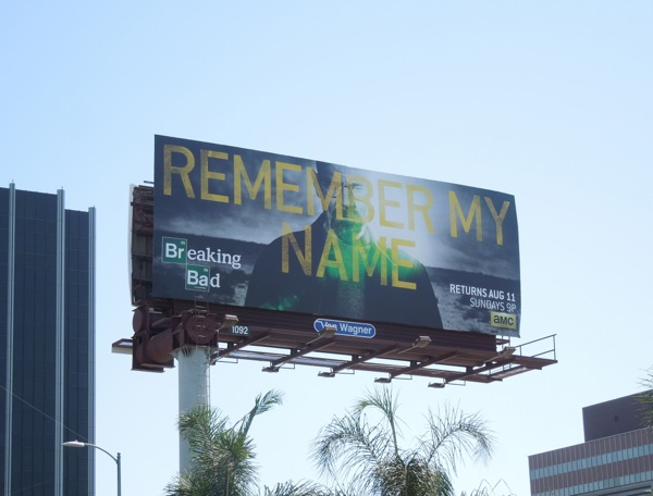Breaking Bad Remember My Name series finale billboard