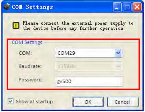 Configurar COM