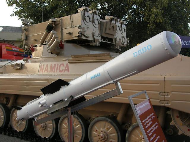 nag missile namica
