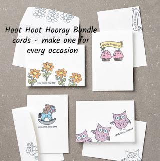 Hoot Hoot Hooray Card Bundle finished cards