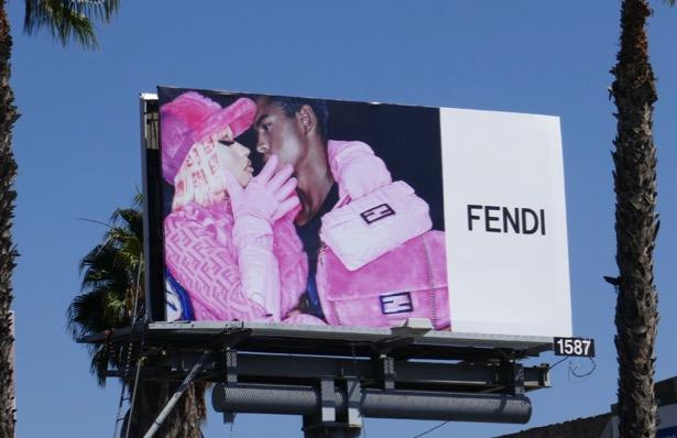 Nicki Minaj Fendi Fall 2019 billboard