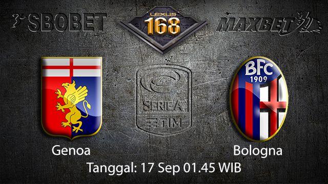 Prediksi Bola Jitu Genoa vs Bologna 17 September 2018 ( Italian Serie A )